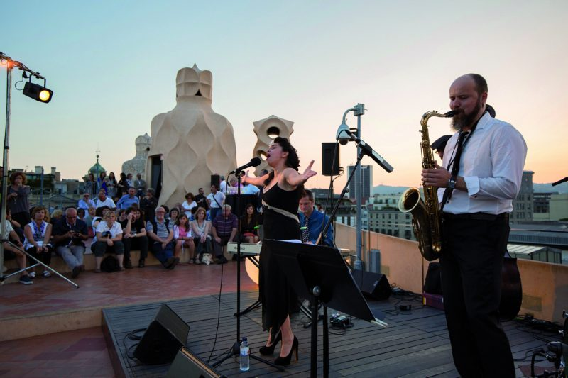 Nights with rhythm in Barcelona
