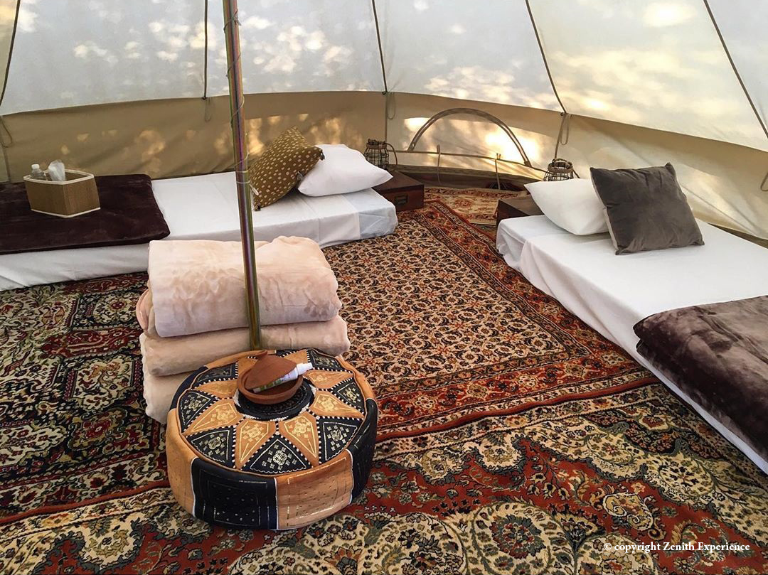 Glamping in the vinyeards