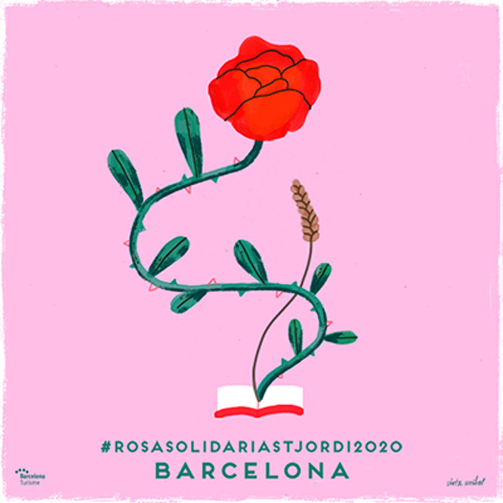Sant Jordi 2020 Solidarity Rose
